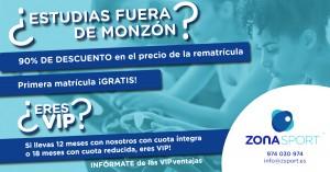 Ofertas y promociones en Zona Sport