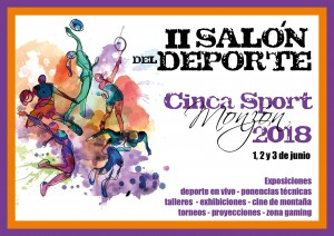 Flayers Salon del deporte 2018