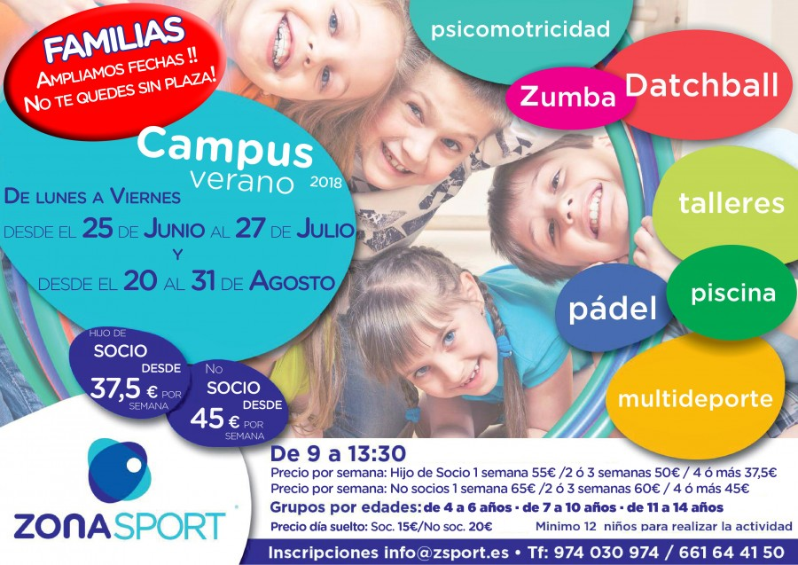 cartel campus verano 2018 final